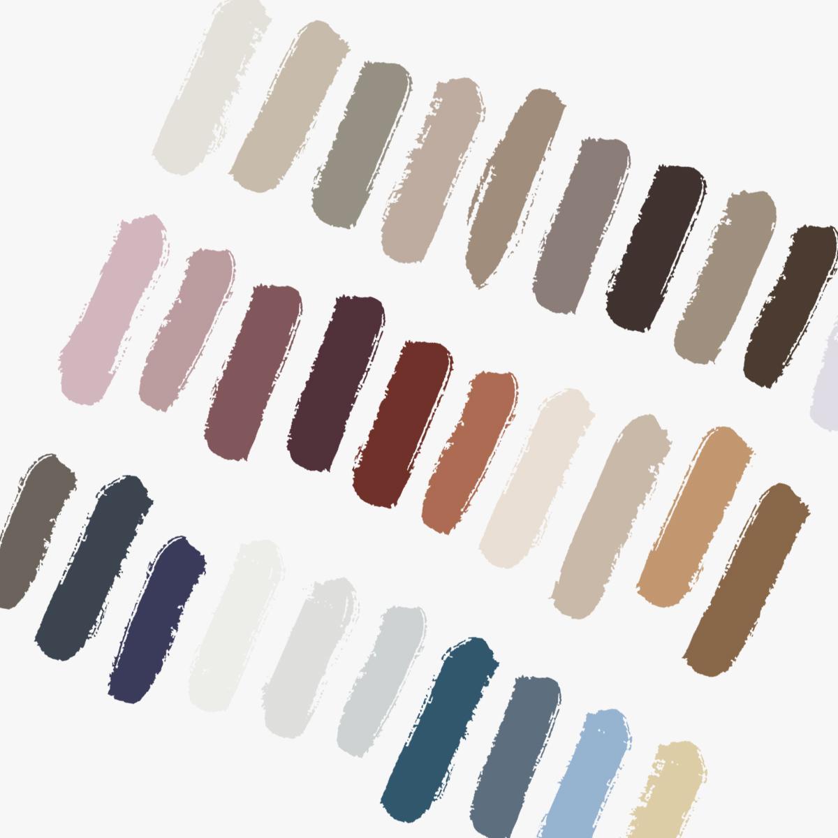 Colour Trends 2019 Paint Swatch