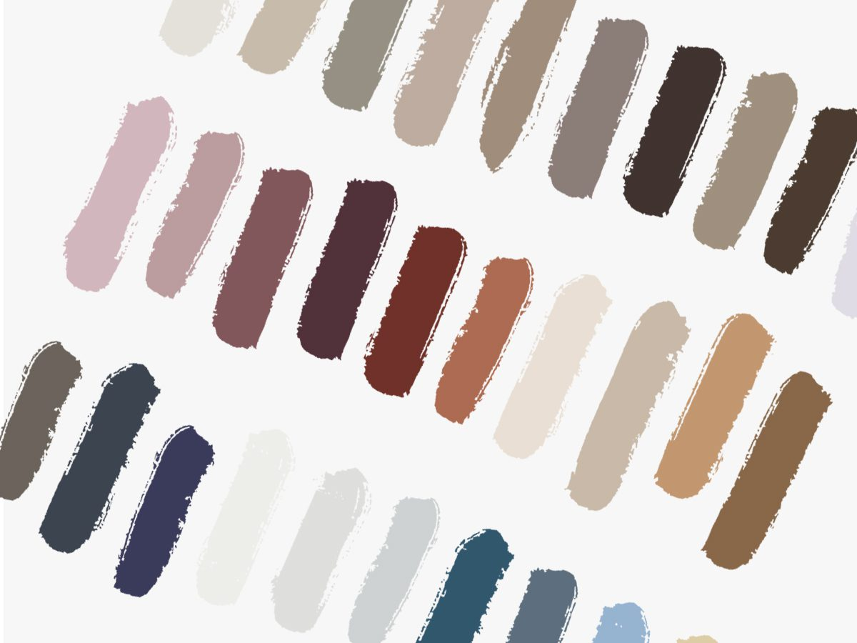 Colour Trends 2019 Paint Swatch