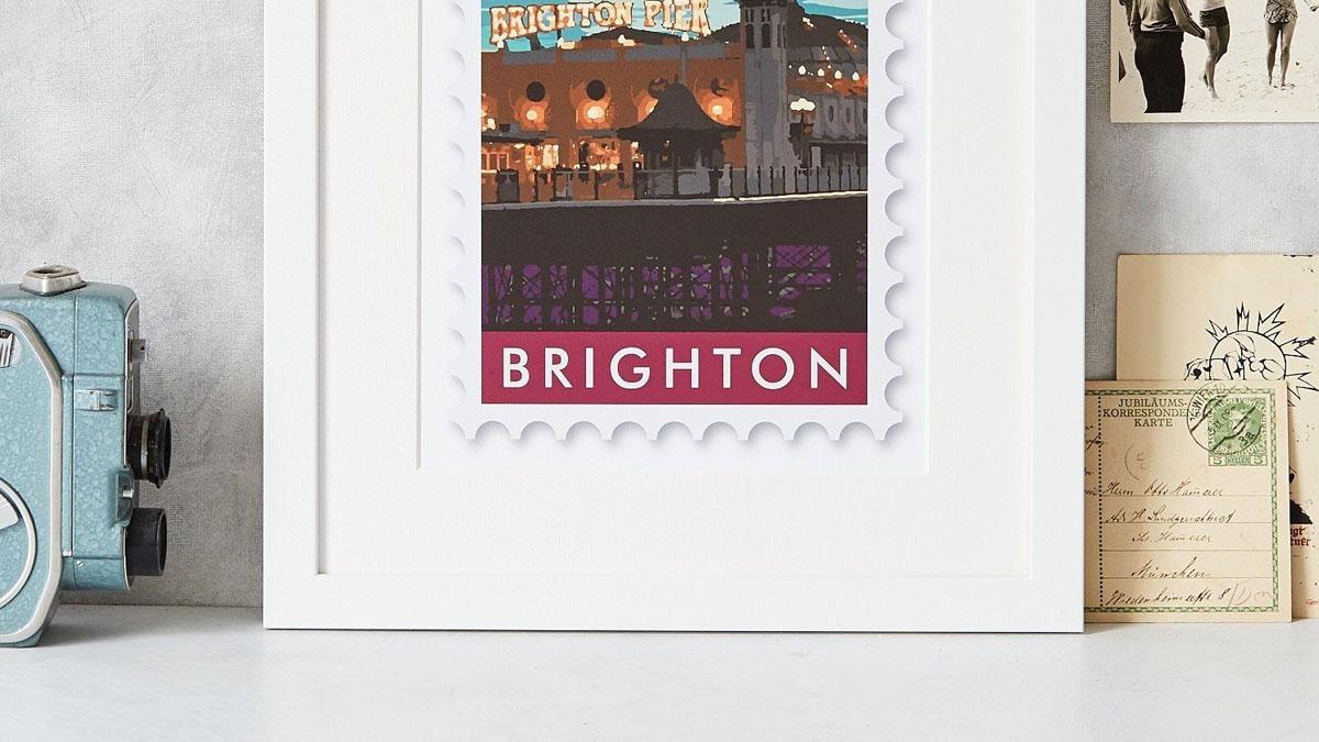 Betsy Benn postcard print