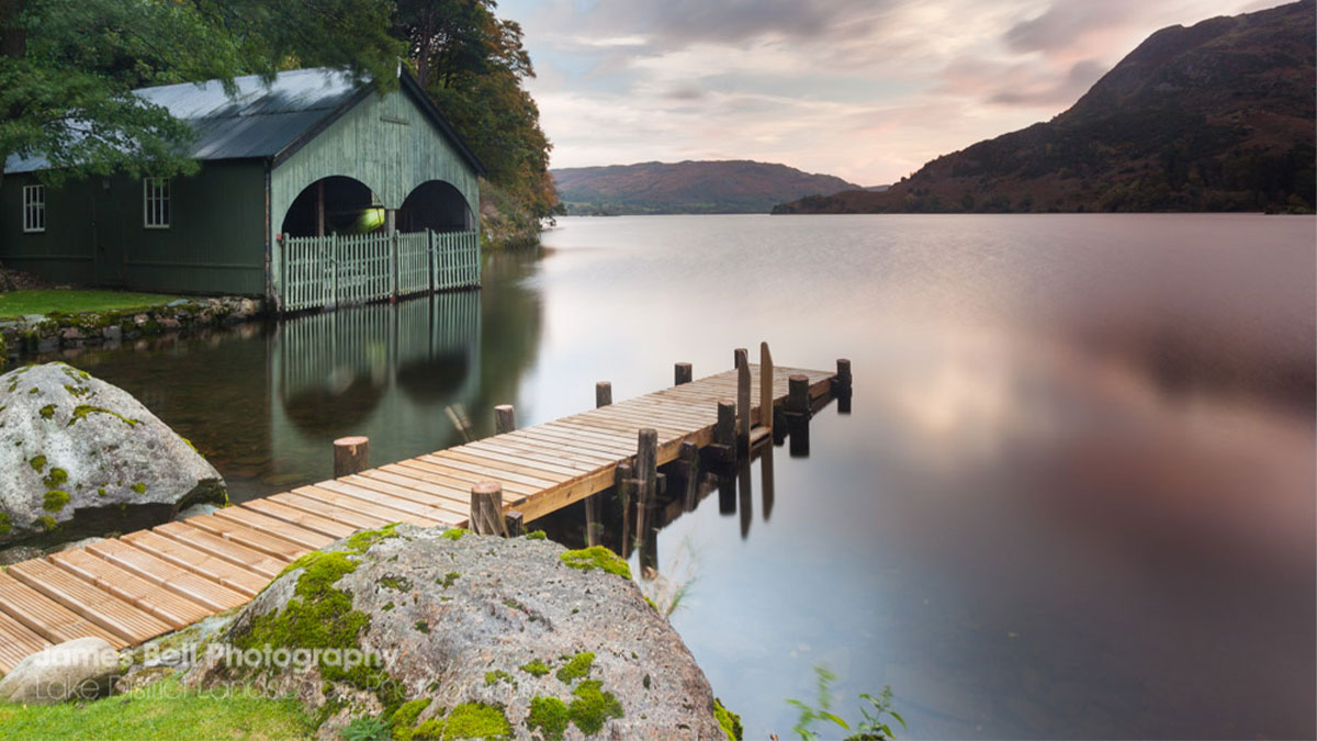 Ullswater Calm Lake shot by James Bell