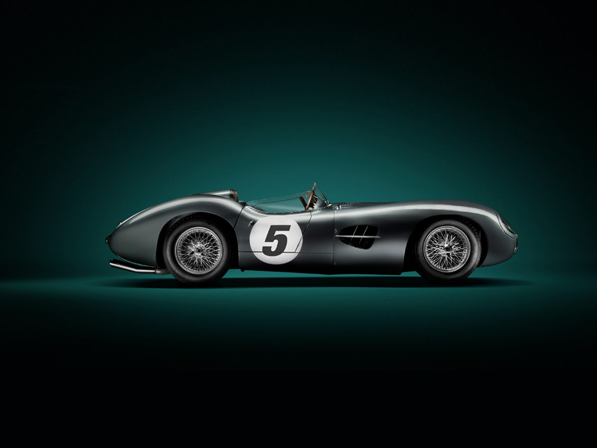 Tim Wallace Studio Shot of Aston Martin DBR2