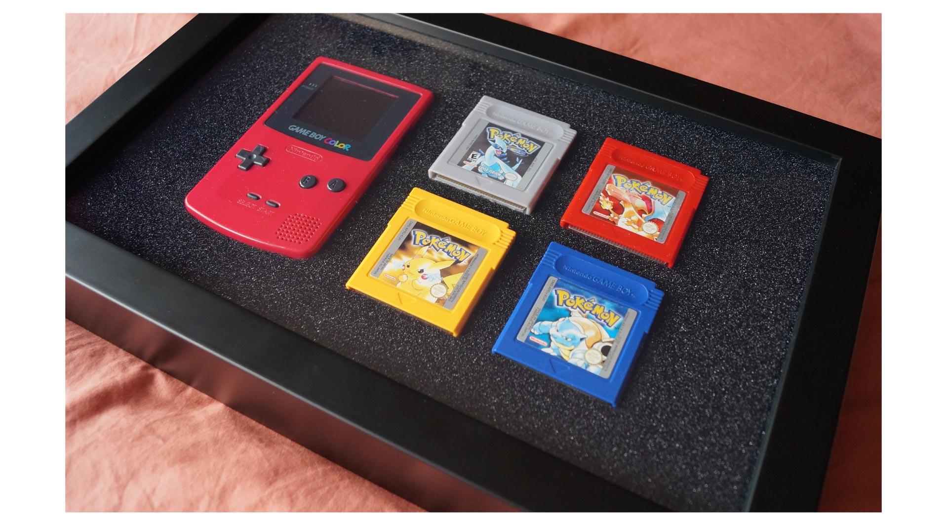 Create a retro gaming picture frame