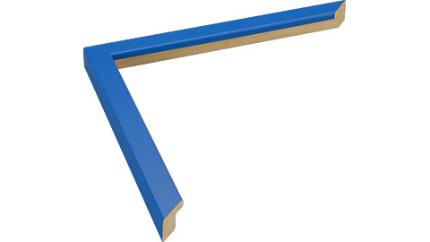 15mm Wide, Mid Blue Wood Paint Frame (MLDA813)
