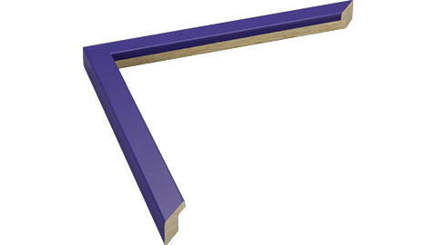 15mm Wide, Mauve Wood Paint Frame, 14x18