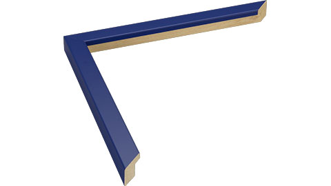 15mm Wide, Dark Blue Wood Paint Frame (MLDA817)