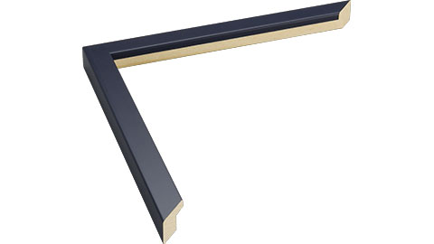 15mm Wide, Navy Wood Paint Frame (MLDA818)