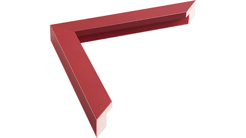 23mm Wide, Maroon Wood Paint Frame, 45x60cm (MLDA759)