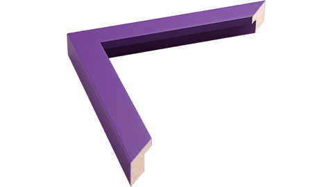 23mm Wide, Purple Wood Paint Frame, 14x18