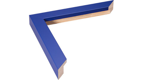 23mm Wide, Blue Wood Paint Frame (MLDA757)