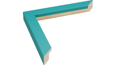 23mm Wide, Aqua Wood Paint Frame (MLDA838)
