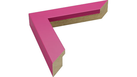 33mm Wide, Fuchsia Wood Paint Frame, 24x30