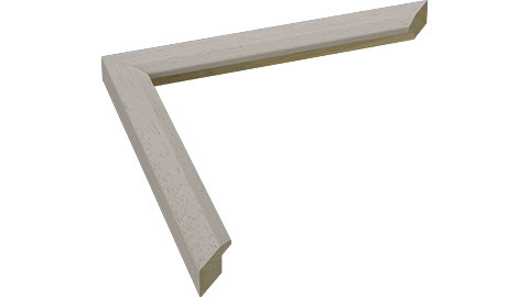 20mm Wide, Cream Wood Stain Frame (MLDA927)