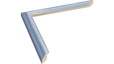 20mm Wide, Blue Wood Stain Frame (MLDA1149)