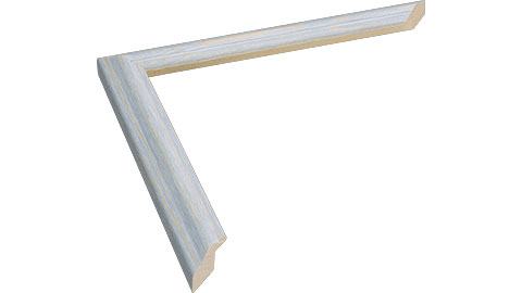 20mm Wide, Light Blue Wood Stain Frame (MLDA1150)