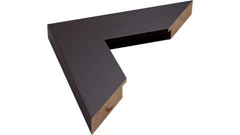 53mm Wide, Black Wood Paint Frame, 60x80cm (MLDA732)