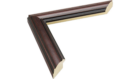 31mm Wide, Mahogany Wood Stain Frame (MLDA1248)