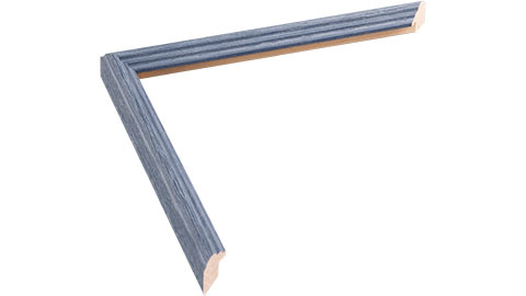 16mm Wide, Blue Wood Stain Frame (MLDA361)