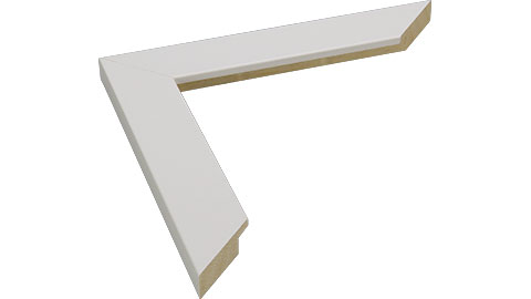 30mm Wide, White Wood Paint Frame, A0 (MLDA1307)
