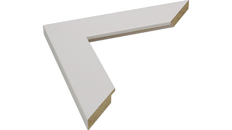 40mm Wide, White Wood Paint Frame, A0 (MLDA1309)