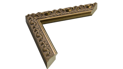30mm Wide, Bronze Wood Leaf Frame, 12x16