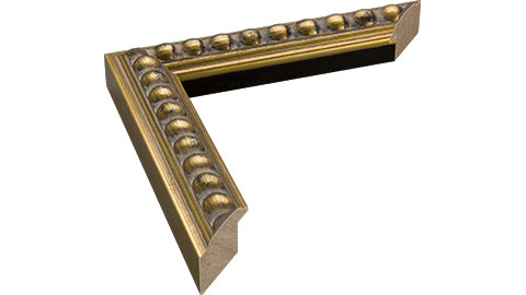 30mm Wide, Gold/Black Wood Foil Frame, 30x40cm (MLDA1386)