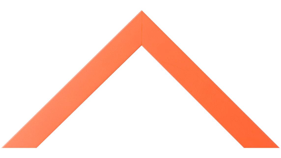 Orange picture frame MLDA750 - wood photo frame with paint finish ...