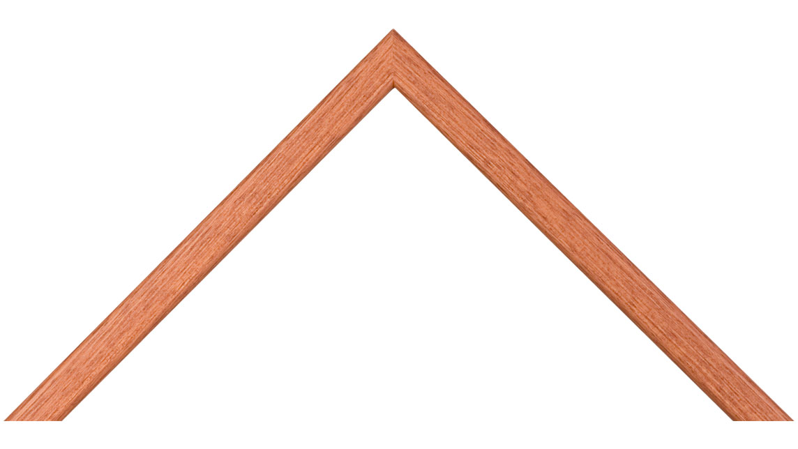 Teak picture frame MLDA340 - wood photo frame with stain finish and ...