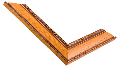 33mm Wide, Teak Wood Stain Frame