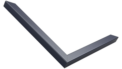 15mm Wide, Navy Wood Paint Frame