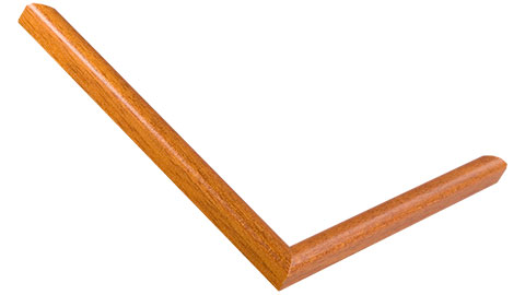 12mm Wide, Rich Honey Wood Stain Frame
