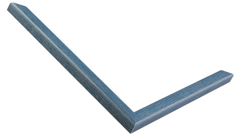 13mm Wide, Blue Wood Stain Frame