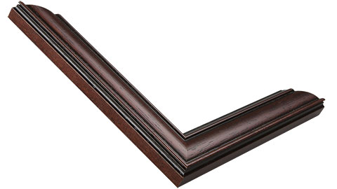 31mm Wide, Mahogany Wood Stain Frame