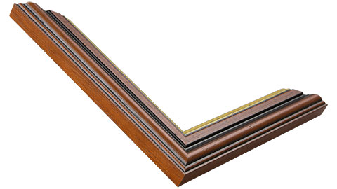 29mm Wide, Walnut Wood Stain Frame, 15x20
