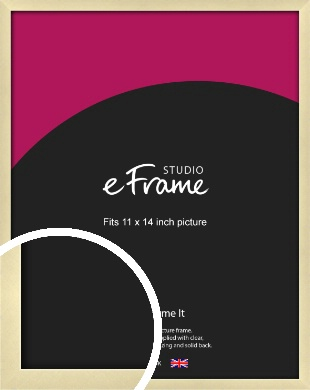 Crisp Gold Picture Frame, 11x14
