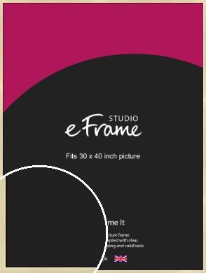 Crisp Gold Picture Frame, 30x40