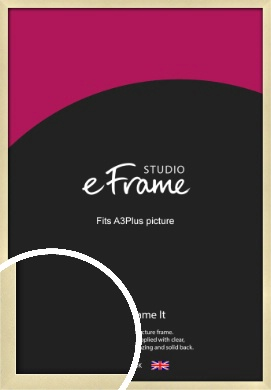 Crisp Gold Picture Frame, A3Plus (VRMP-A030-329x483mm)