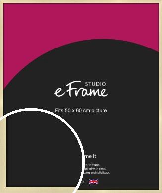 Crisp Gold Picture Frame, 50x60cm (VRMP-A030-50x60cm)