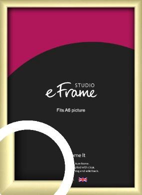 Modern Flawless Gold Picture Frame, A6 (105x148mm) (VRMP-A033-A6)