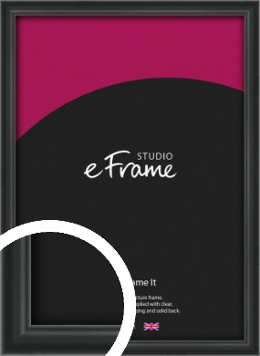 Modern Curved Black Picture Frame (VRMP-A002)