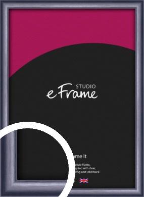 Brushed Muave Purple Picture Frame (VRMP-A009)