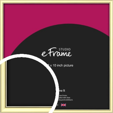 Soft Gold Picture Frame, 10x10
