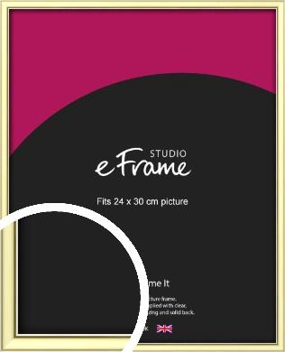 Soft Gold Picture Frame, 24x30cm (VRMP-A037-24x30cm)
