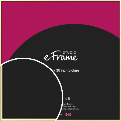 Soft Gold Picture Frame, 30x30