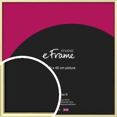 Soft Gold Picture Frame, 40x40cm (VRMP-A037-40x40cm)