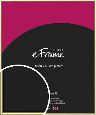 Soft Gold Picture Frame, 50x60cm (VRMP-A037-50x60cm)