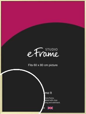 Soft Gold Picture Frame, 60x80cm (VRMP-A037-60x80cm)