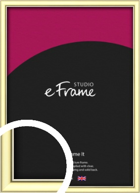 Soft Gold Picture Frame (VRMP-A037)
