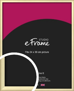Refined Gold Picture Frame, 24x30cm (VRMP-A044-24x30cm)