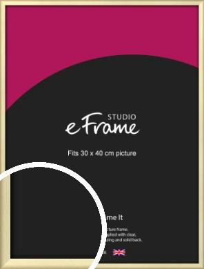 Refined Gold Picture Frame, 30x40cm (VRMP-A044-30x40cm)