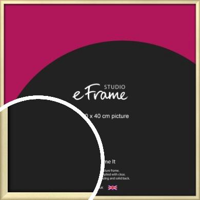 Refined Gold Picture Frame, 40x40cm (VRMP-A044-40x40cm)